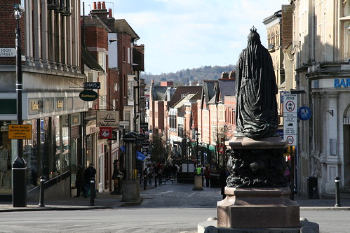 Windsor: High street |...