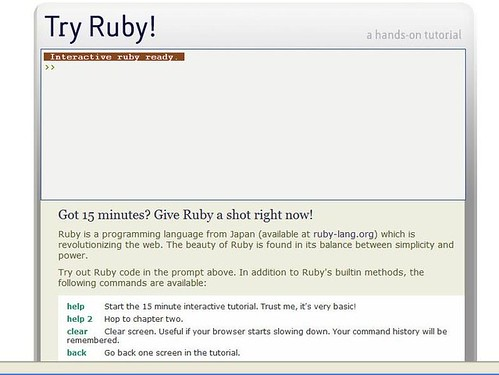 try ruby | by sfong15