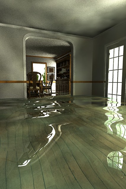 LP interior Flooded Interior | Same room with some ...