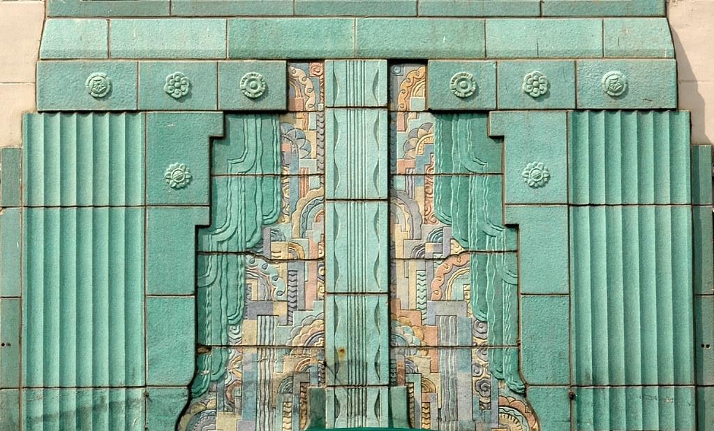 Art Deco Terra Cotta Ornamentation Art Deco