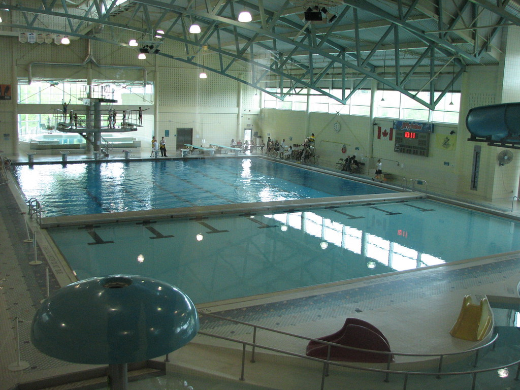the lane pool at the swimplex in waterloo ontario this i flickr