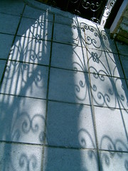 ironwork shadows