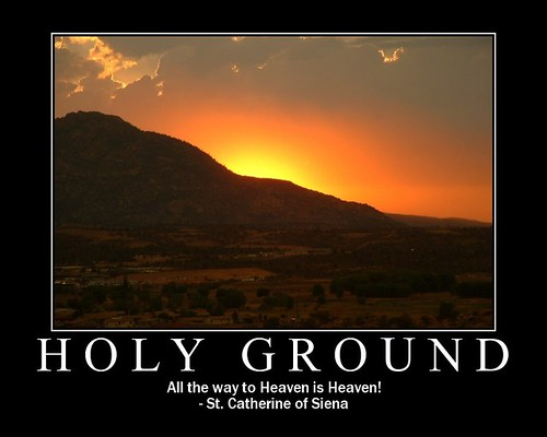 Holy Ground | Holy Ground All the way to Heaven is Heaven ...
