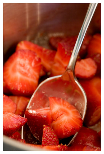 Making Strawberry Puree | by Lara Ferroni