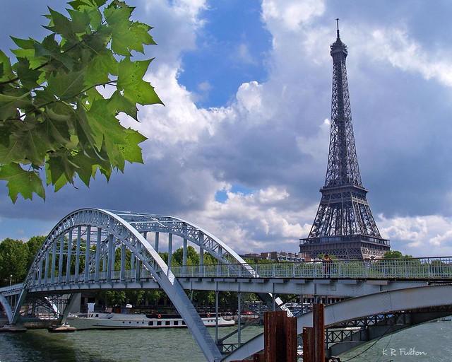 paris france la tour eiffel from a day trip to paris a won flickr. Black Bedroom Furniture Sets. Home Design Ideas