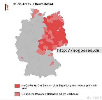 No Go Areas Deutschland