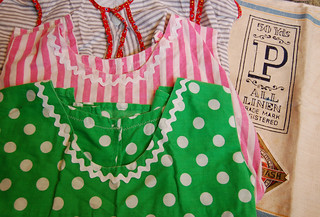 aprons and tea towel | by SouleMama