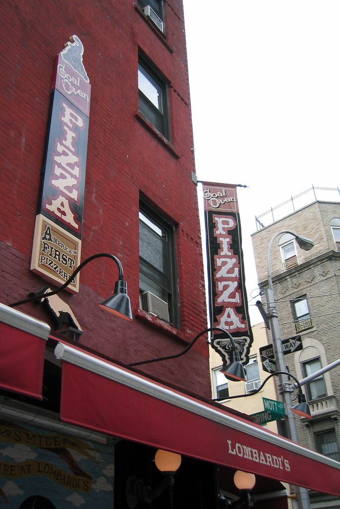nyc little italy lombardi 39 s pizzeria according to. Black Bedroom Furniture Sets. Home Design Ideas