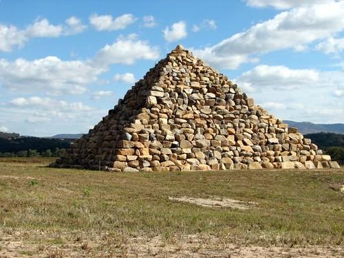 Stone Pyramid Ballandean While Touring The Stanthorpe