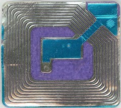 Blue and Purple RFID tag | by midnightcomm