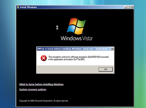 First impression of Windows Vista | by everdred