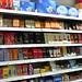 Supermarket chocolate display, Switzerland