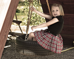 On the Tire Swing | by 3rd foundation