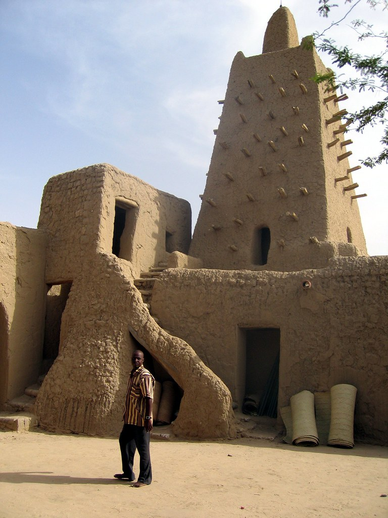 tower of the great mosque of timbuktu