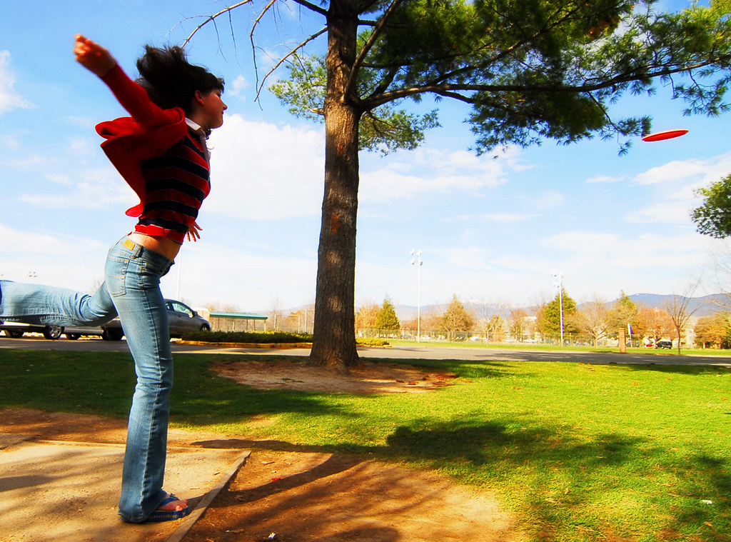 New Golf R >> Disc Golf Ballerina | Kali makes things funny. | silent7seven | Flickr