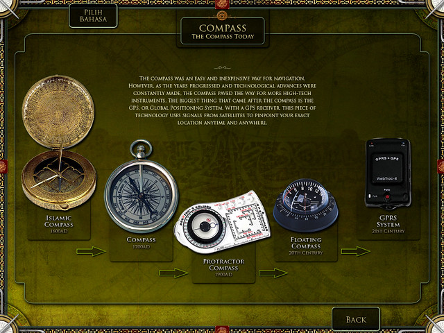 Compass - The Compass Today | Kiosk design interface for ...
