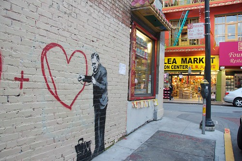 Banksy in San Francisco (possibly) 71 | by Steve Rhodes