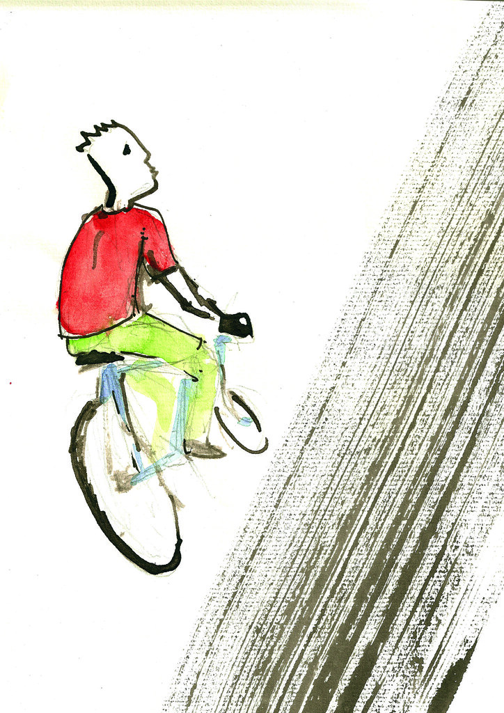 bici y trazo