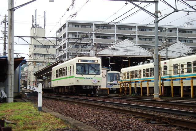 2015/06 叡山電車×NEW GAME! ラッピング車両 #19
