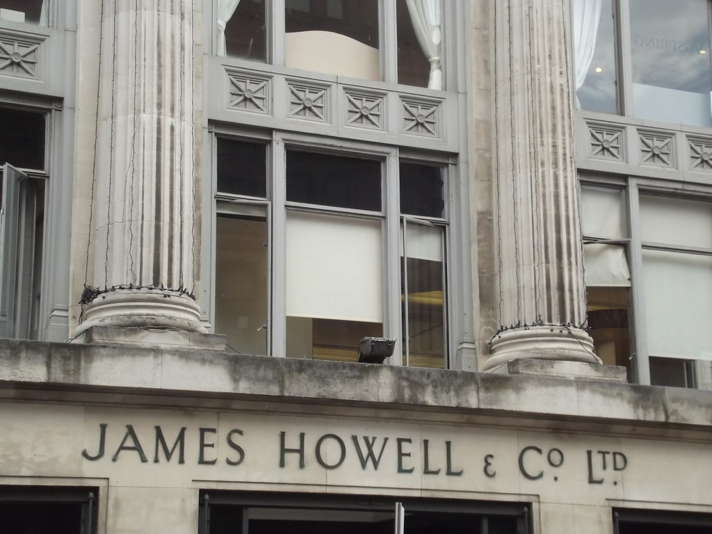 House of fraser st mary street cardiff sign james h for Quality classic house of fraser