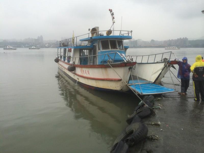帰りの渡し船