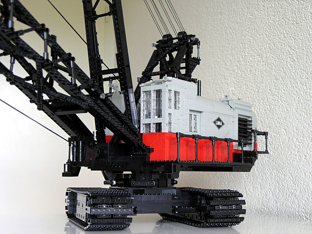 Lima 2400 Crawler Dragline An Old Model Of A Lima 2400 Cra Flickr