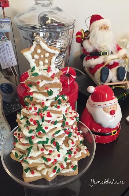 yıldız kurabiye yılbaşı ağacı