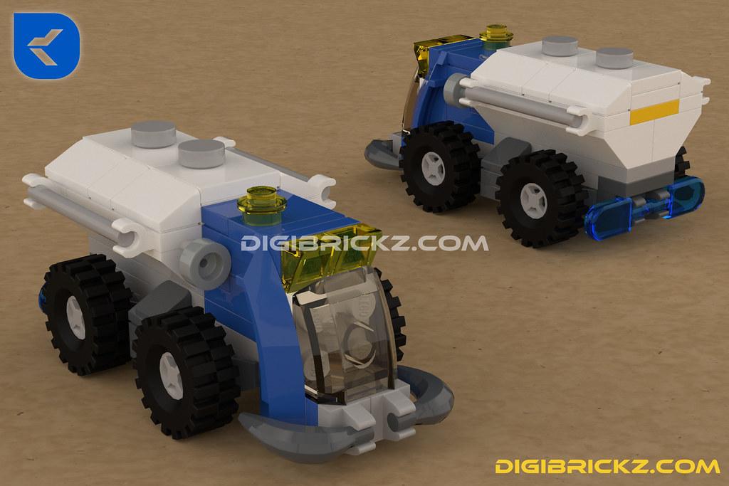 LEGO Micro Rover by Kamal Muftie Yafi (KamalMYafi/Kamteey) | DigiBrickz.com
