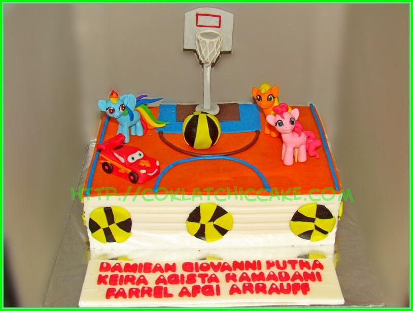 Cake Lapangan Basket