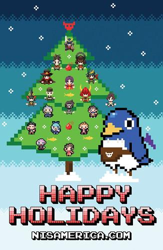 Праздничные открытки от разработчиков видеоигр