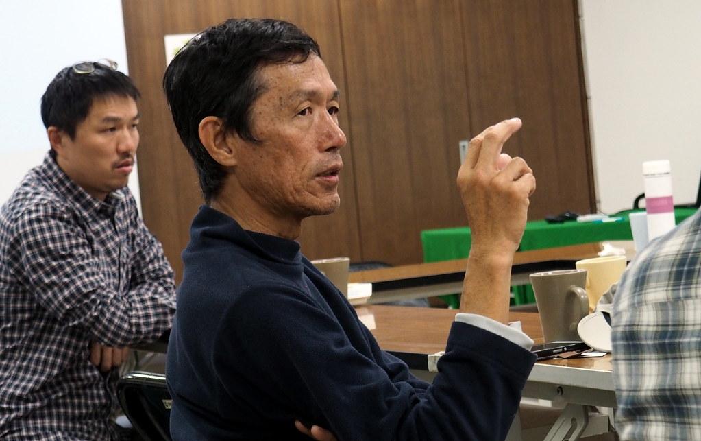 屏科大野保所教授孫元勳認為,應用溝通取代禁用,讓農民了解鼠藥對猛禽保育的危害。攝影:李育琴