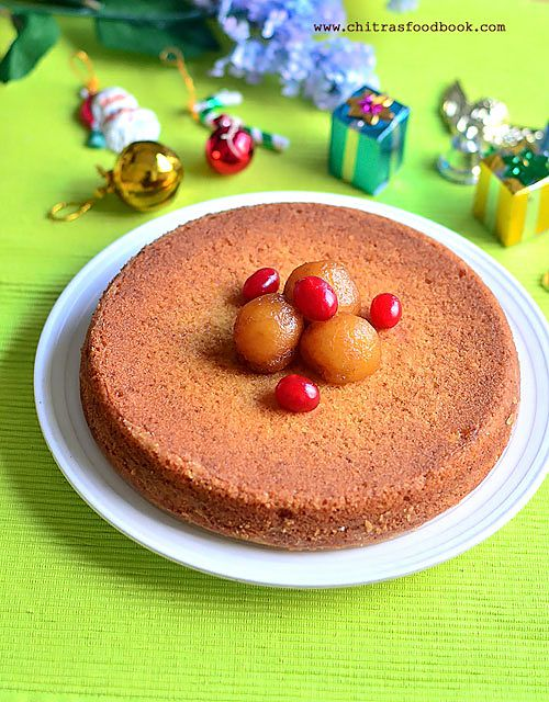 vanilla cake using gulab jamun mix