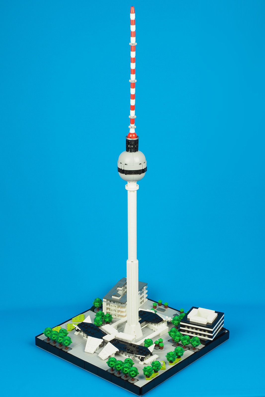 this fernsehturm can make any lego micropolis look like. Black Bedroom Furniture Sets. Home Design Ideas