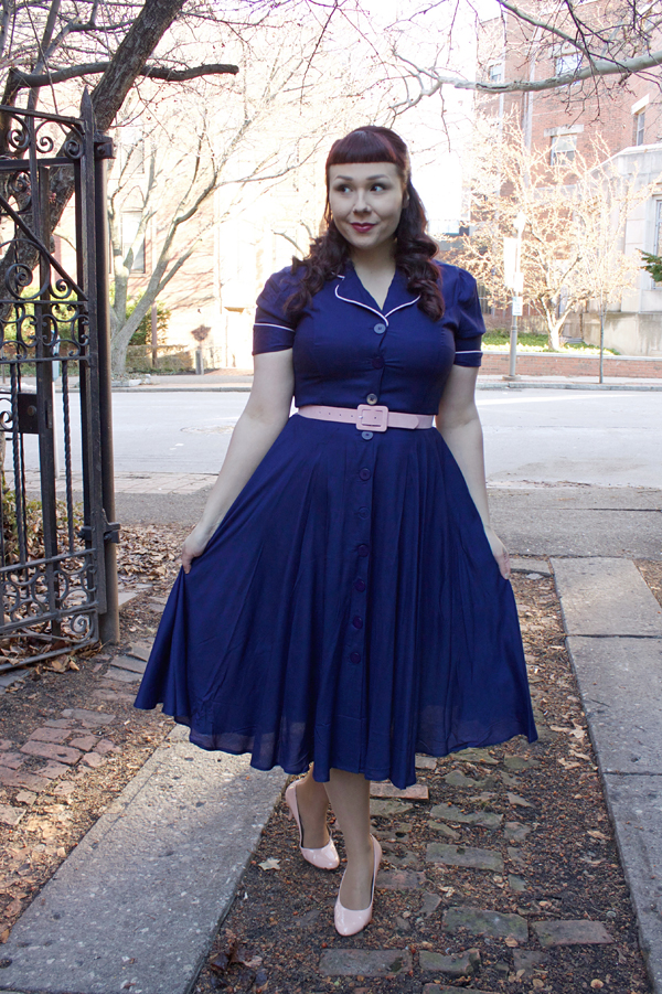 navy diner dress campbell crafts
