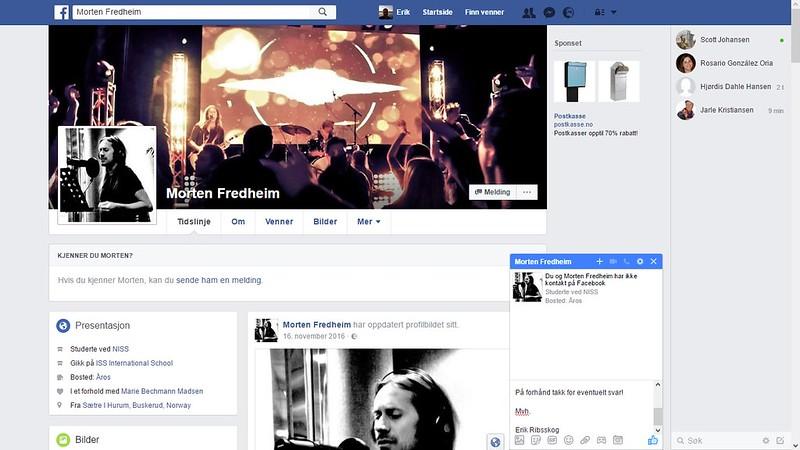 facebook morten fredheim hm