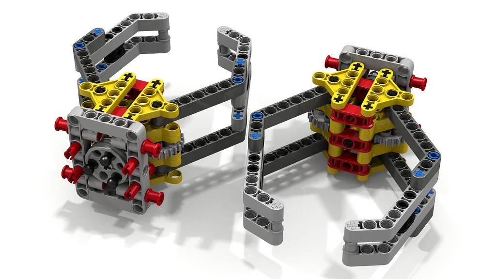 Lego Gripper Assembly (pair) | This is an interpretation of … | Flickr