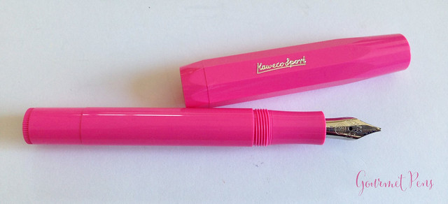 Review Kaweco Sport Skyline Pink Fountain Pen @Fontoplum0 @Kaweco (9)
