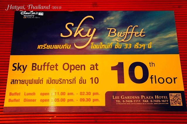 Hat Yai Day 4 - 04 Sky Buffet at Lee Gardens Plaza Hotel