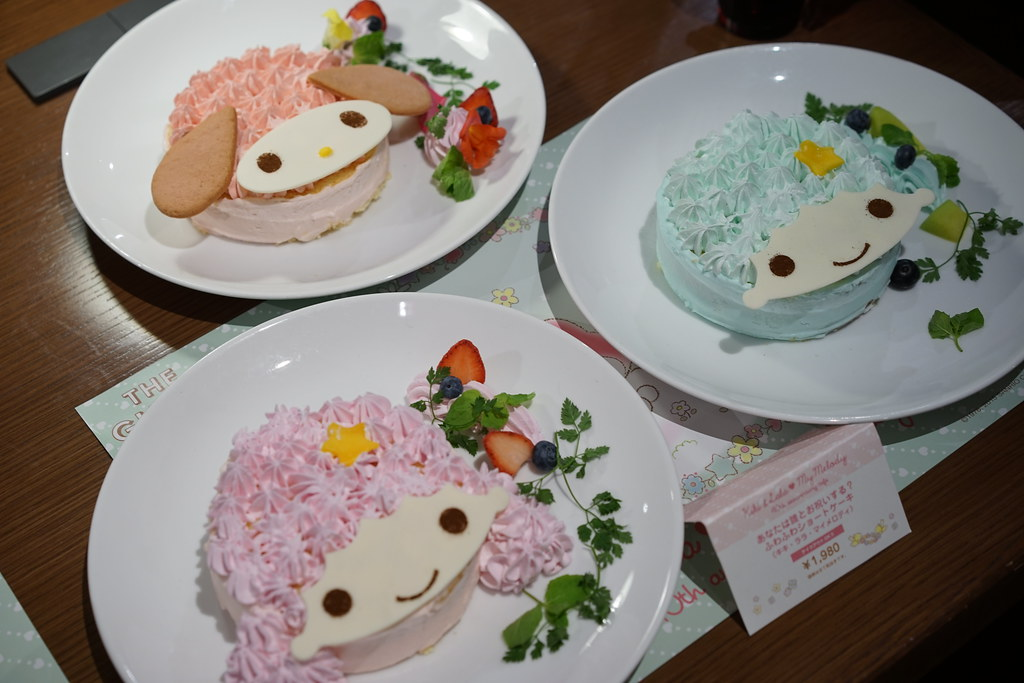 Kiki & Lala ❤ My Melody 40th anniversary cafe_8