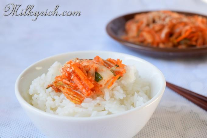 21 - cơm kim chi