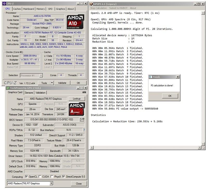 "Stress Test Undervolt: A10-7870K ""last Review Of AMD Until Zen"""