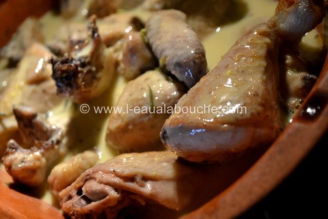 Poulet à l'Ail & Romarin © Ana Luthi Tous droits réservés  019