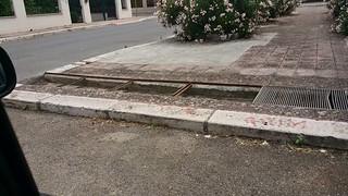 Casamassima- Pericolo in piazza Salvemini-Che fine hanno fatto le griglie