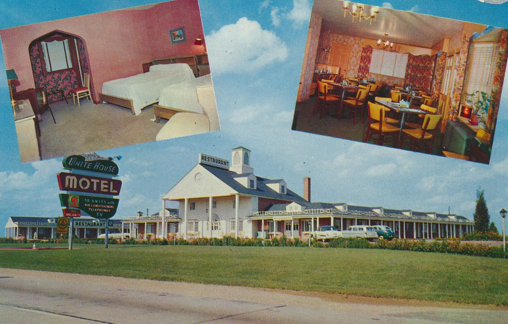 White House Motel - Newburg, Maryland