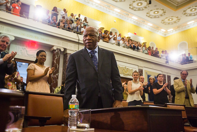Getting to the Point with Congressman John Lewis