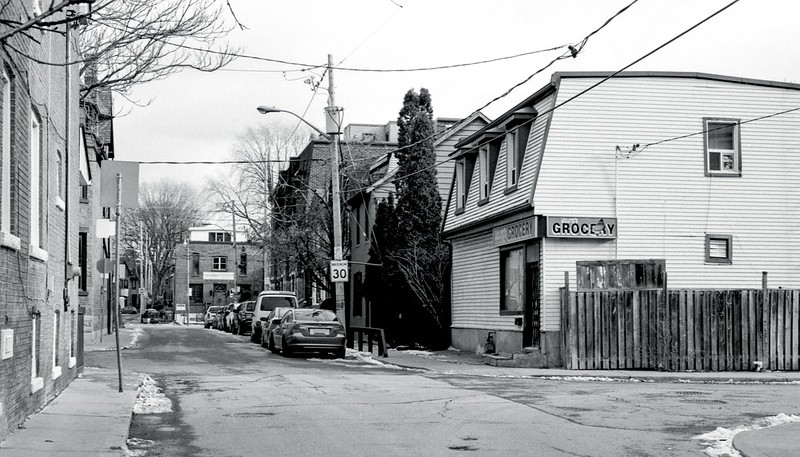 Lower Riverdale Side Street