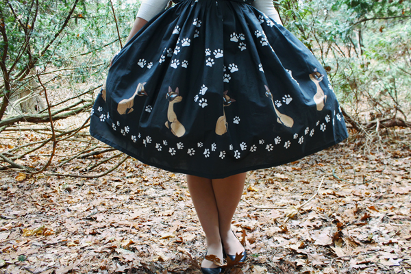 siamese cat disney dress