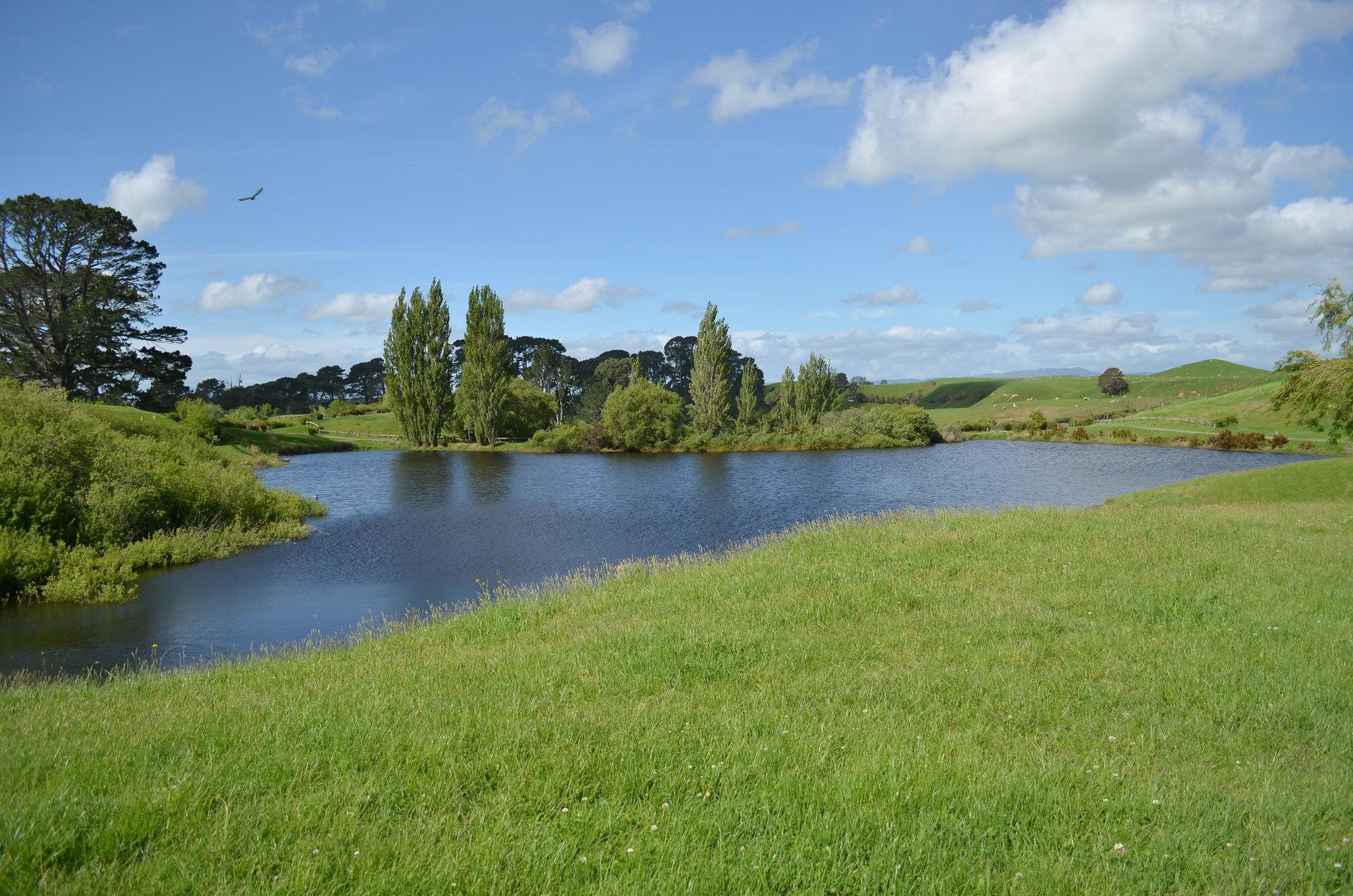 Hobbiton - lake