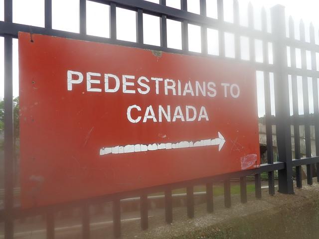 Pedestrians to Canada