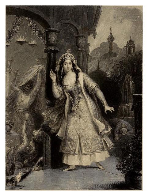003-Lalla Rookh an oriental romance-1853 -E. H. Corbould